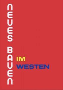 """Buchcover """"Neues Bauen im Westen"""""""